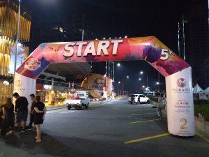Balon Gate Start Finish Cikarang Bekasi